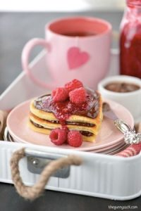 Pancakes from the heart