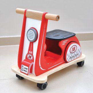 scoot mini red